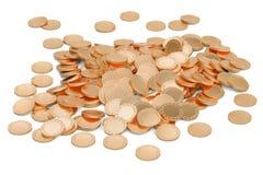Golden coins, 3D rendering Stock Photo