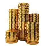 Golden coins Stock Photography