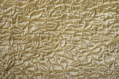 Golden color blanket Stock Photography