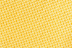 Golden color silk cloth texture Royalty Free Stock Photos