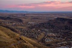 Golden, Colorado Sunrise Stock Photography