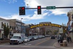 Golden Colorado Stock Images