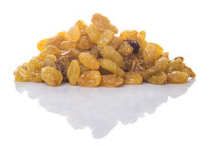 Golden Colored Dried Raisin III Stock Images