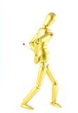 Backache Mannequin Stock Image