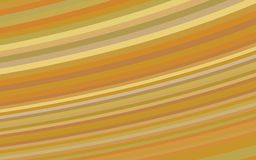 Golden Colorful stripes for your creative designs. Colorful abstract background of curved stripes in gold colors. for creative design ideas Stock Photography