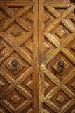 Beautiful old designing door stock photo