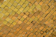Golden colour wall texture Stock Photos