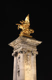 Golden column  Royalty Free Stock Images
