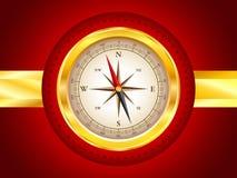 Golden compass Stock Photography