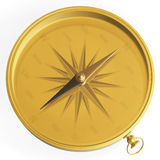 Golden compass Stock Photos