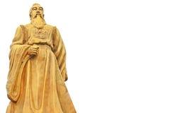 Golden Confucius Stock Images