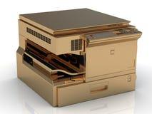 Golden copier Stock Photo