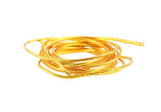Golden cord Stock Images