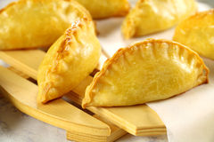 Golden Cornish Pasties Stock Image