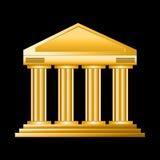 Golden court royalty free illustration