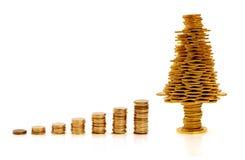 Golden creative business Stock Photo