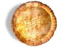Golden Crispy Pastry Pie Top Stock Photography