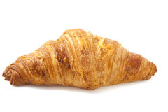 Golden croissant Royalty Free Stock Image