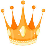 Golden crown Stock Image