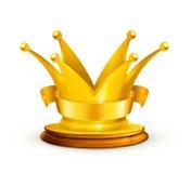 Golden crown Stock Photos