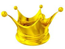 Golden crown Stock Image