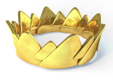 Golden crown Stock Photos