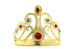 Golden Crown Royalty Free Stock Photos
