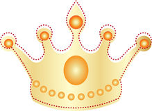 Golden crown Stock Photography