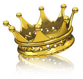 The golden crown Stock Photos