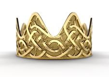 Free Golden Crown With Thorn Patterns Stock Photos - 107087783