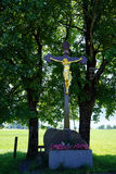 Golden crucifix Royalty Free Stock Photo