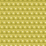 Golden cube and shere pattern Royalty Free Stock Photos