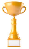 Golden cup Royalty Free Stock Photos