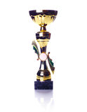 Golden cup Stock Photo