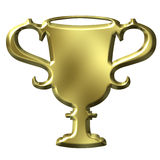 Golden Cup Stock Image