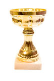 Golden cup Royalty Free Stock Images