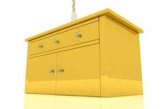 Golden cupboard Stock Photo