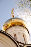 Golden cupola Royalty Free Stock Image