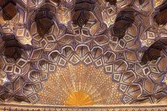 Golden cupola of Guri Amir Royalty Free Stock Images
