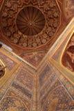 Golden cupola of Tilya Kori Madrasah Stock Photography