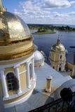 Golden cupolas Stock Photos