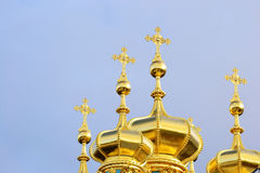 Golden Cupolas Stock Images