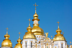 Golden cupolas Royalty Free Stock Photo