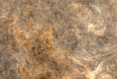 Golden curly marble Stock Images