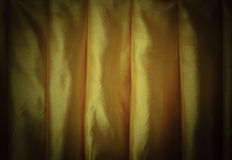 Golden curtain Stock Photography