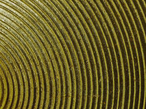 Golden curved texture background Royalty Free Stock Photos
