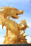 Golden dargon Stock Image