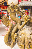 The golden dargon Stock Photos