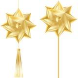 Golden decor design Stock Photography