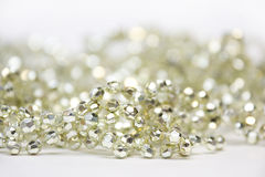 Golden Decoration Beads Royalty Free Stock Images